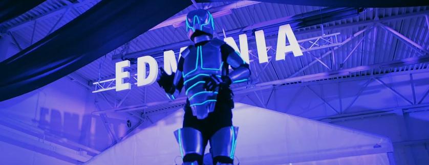 laserman laserbot partybot danceparty robot elektro boogie