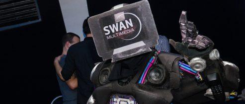 SWAN – Swanformer robotic mascot